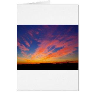 Beautiful Arizona Sunset Greeting Card