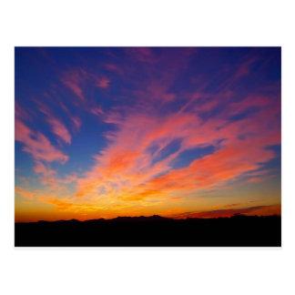 Beautiful Arizona Sunset Postcard