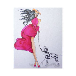 Beautiful Art Fashion Print on Canvas