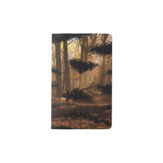 beautiful artistic painting forest artsy Notebook