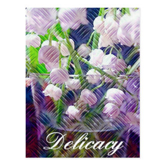Beautiful Artistically Altered Lily of the Valley Postcard