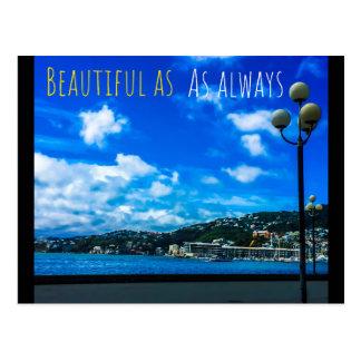 Beautiful as ever postcard