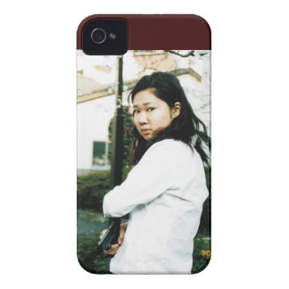 Beautiful Asian Action Woman iPhone 4 Case-Mate Case