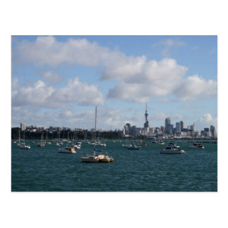 Beautiful Auckland Skyline Postcard