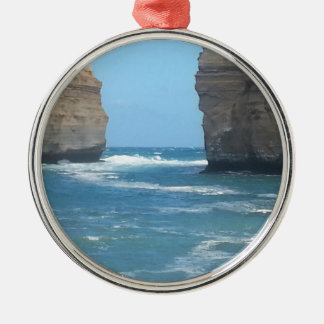Beautiful Australian Scenery you can take anywhere Silver-Colored Round Decoration