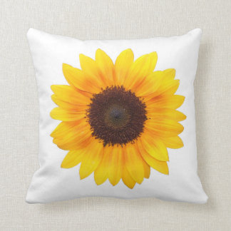 Beautiful Autumn Beauty Sunflower 2014 Cushion