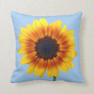 Beautiful Autumn Beauty Sunflower 2014 Throw Cushion