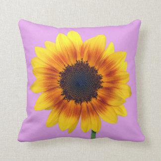 Beautiful Autumn Beauty Sunflower 2014 Throw Cushions