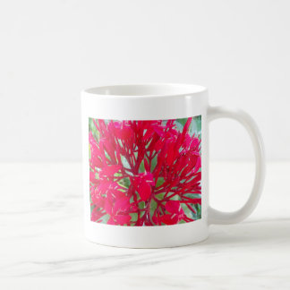 Beautiful Awesome Red flowers Mug Two-Image