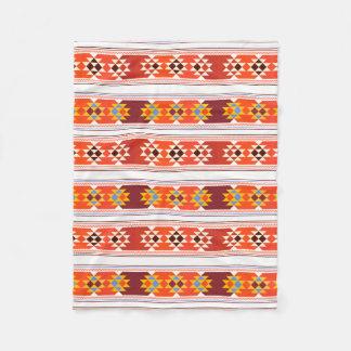 Beautiful Aztec Art Fleece Blanket