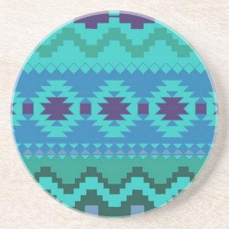 Beautiful Aztec Print Coasters