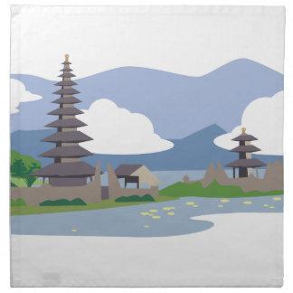 Beautiful Bali Napkin