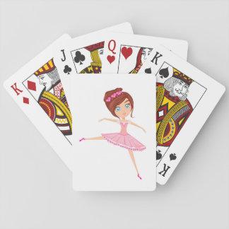 Beautiful ballerina Classic Playing Cards