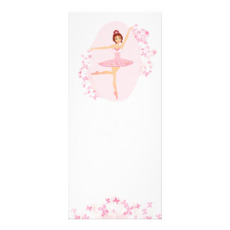 Beautiful ballerina  Rack Card
