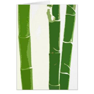 Beautiful Bamboo Card
