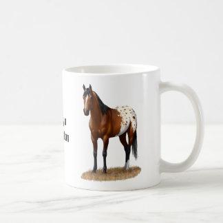 Beautiful Bay Appaloosa Horse Coffee Mug