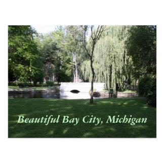 Beautiful Bay City, Michigan Postcard
