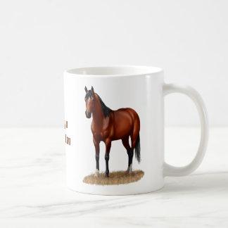 Beautiful Bay Horse Coffee Mug