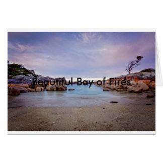 Beautiful Bay of Fires Card
