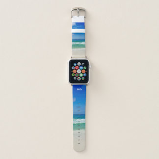 Beautiful Beach Apple Watch Band