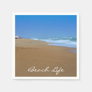 Beautiful Beach-Beach Life by Shirley Taylor Paper Napkin