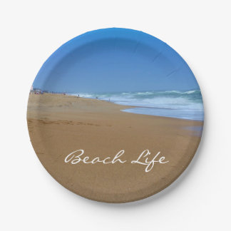 Beautiful Beach-Beach Life by Shirley Taylor Paper Plate