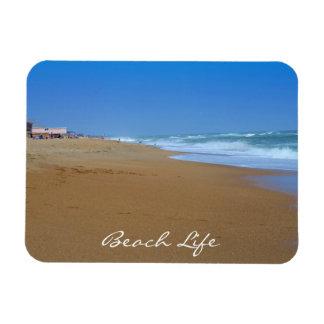 Beautiful Beach-Beach Life Rectangle Magnets