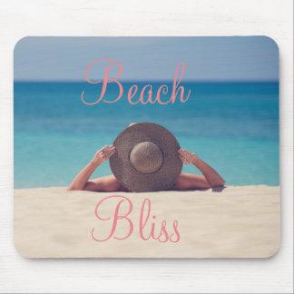 Beautiful Beach Bliss Mouse Pad