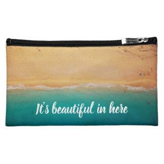 Beautiful Beach Cosmetic Bag