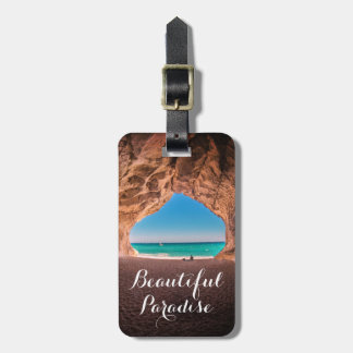 Beautiful Beach Paradise Luggage Tag