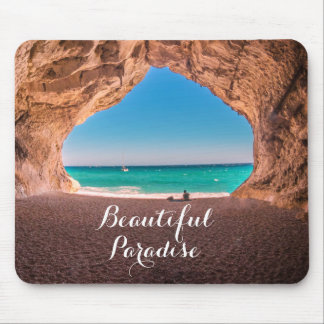 Beautiful Beach Paradise Mouse Pad