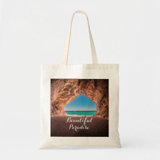 Beautiful Beach Paradise Tote Bag