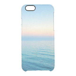 Beautiful beach photo or add your own instagram clear iPhone 6/6S case