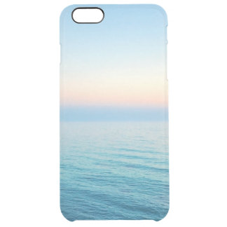 Beautiful beach photo or add your own instagram clear iPhone 6 plus case