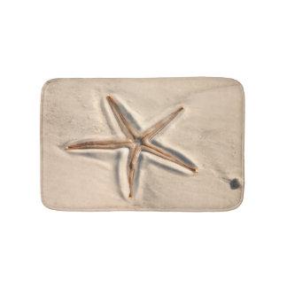Beautiful Beach Starfish Bath Mat
