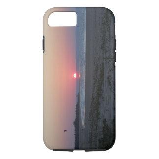 Beautiful beach sunset iPhone Case