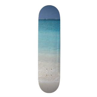Beautiful Beach Turks and Caicos Photo Custom Skateboard