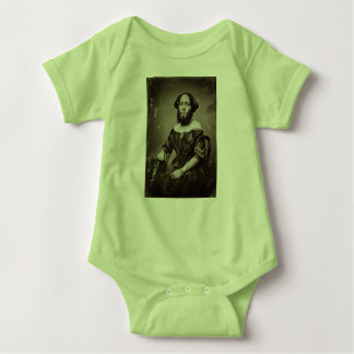 Beautiful Bearded Lady Baby Bodysuit