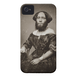 Beautiful Bearded Lady Case-Mate iPhone 4 Case