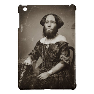 Beautiful Bearded Lady iPad Mini Cover