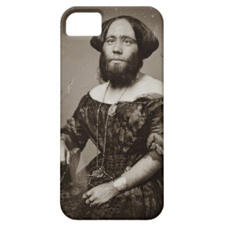 Beautiful Bearded Lady iPhone 5 Cases