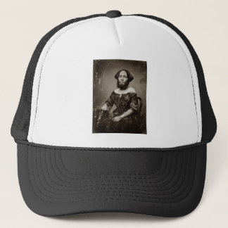 Beautiful Bearded Lady Trucker Hat