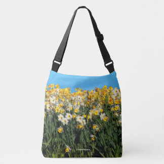 Beautiful Bed of Daffodils Crossbody Bag