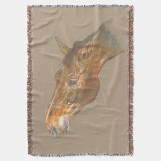beautiful Belgian Warmblood horse head image