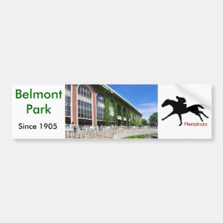 Beautiful Belmont Park Bumper Sticker