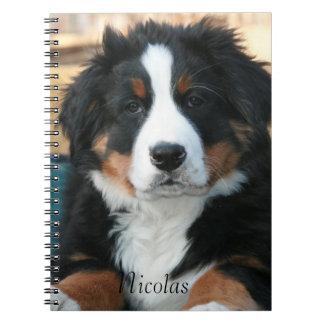 Beautiful Bernese Mountain Dog Notebooks