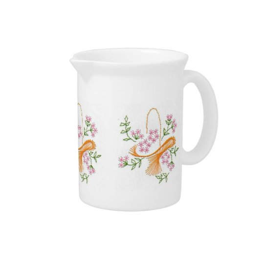 Beautiful Beverage Pitcher