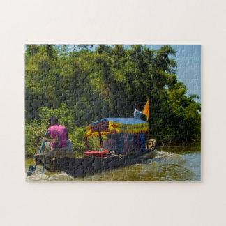 Beautiful Bichanakandi Sylhet Bangladesh Jigsaw Puzzle