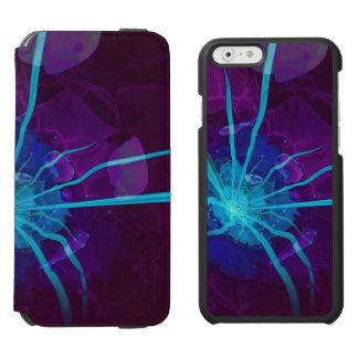 Beautiful Bioluminescent Sea Anemone FractalFlower Incipio Watson™ iPhone 6 Wallet Case