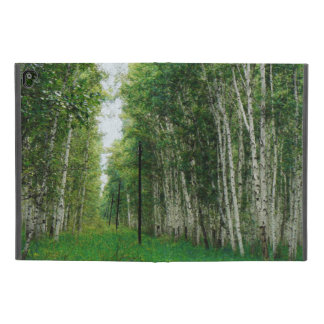 "Beautiful Birch Tree Forest Art iPad Pro 9.7"" Case"